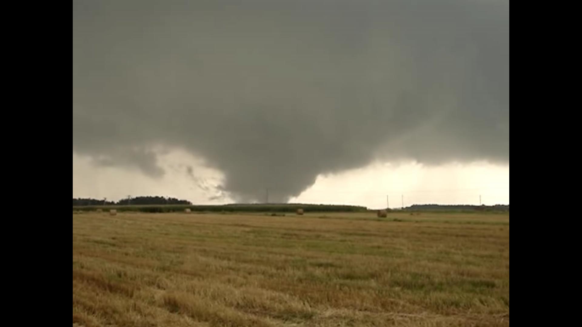 Tornado sierpień 2008