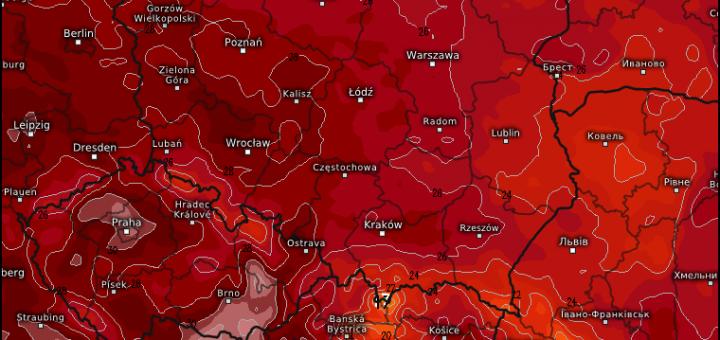 temperatura maksymalna sobota