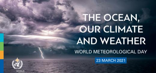 Ocean, nasz klimat i atmosfera - Międzynarodowy Dzień Meteorologii 2021!