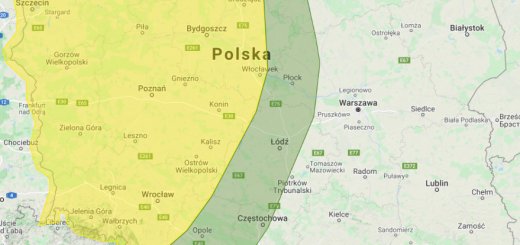 Prognoza burzowa na dzień 7.08.2021 i noc z 7/8.08.2021